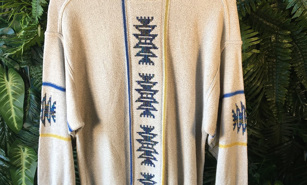 Aztec Pattern Knit