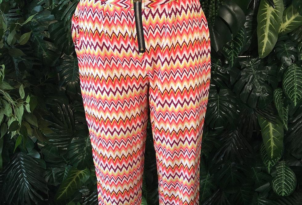 Arisa 90s zigzag trousers (size 10)