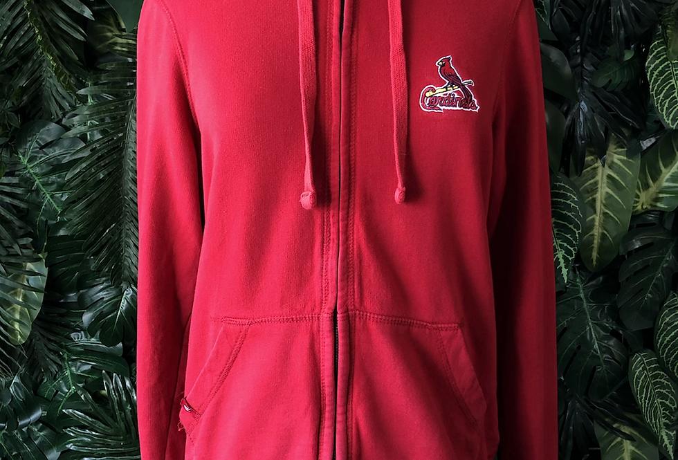 Cardinals zip hoodie