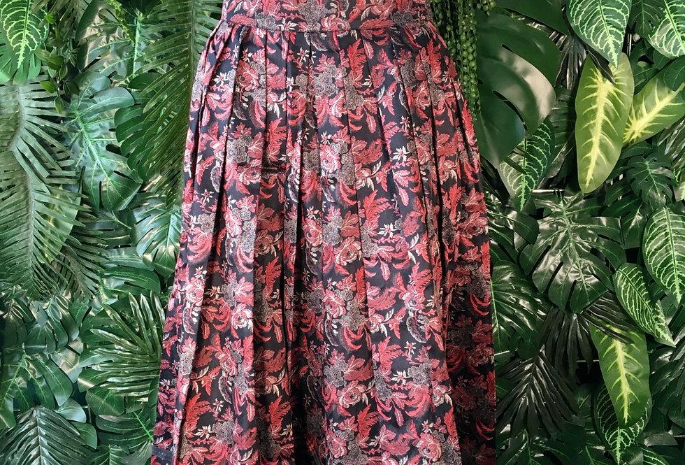 Floral tyrol skirt (size 36)
