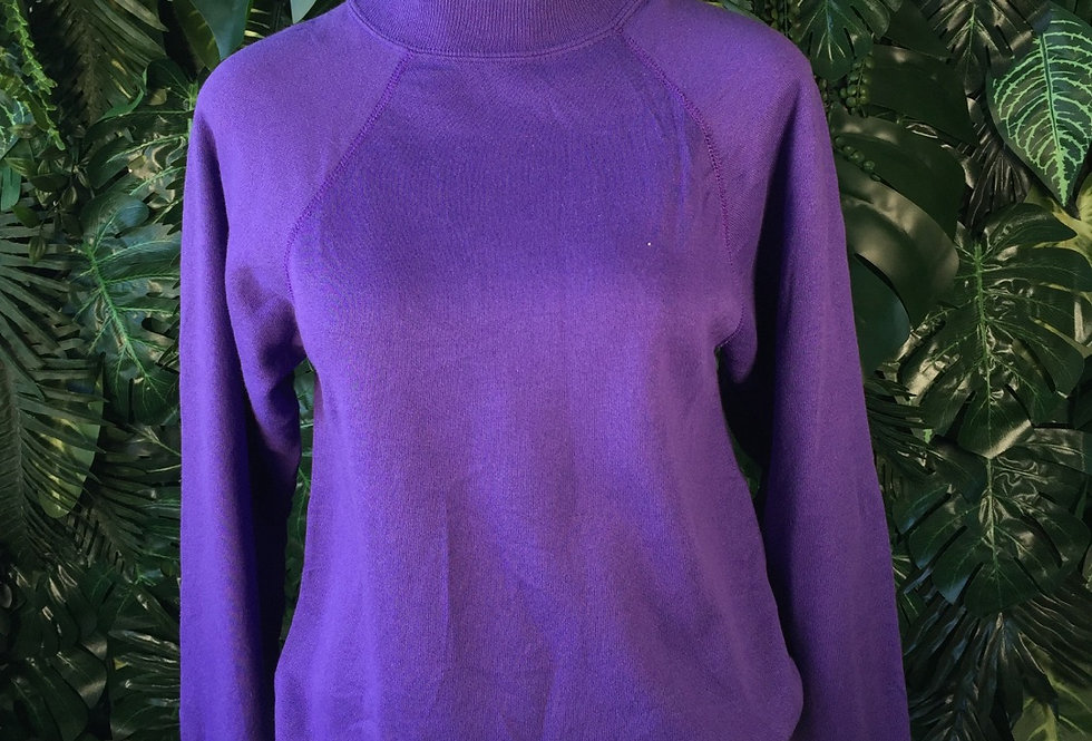 Hanes purple crew neck (XL)