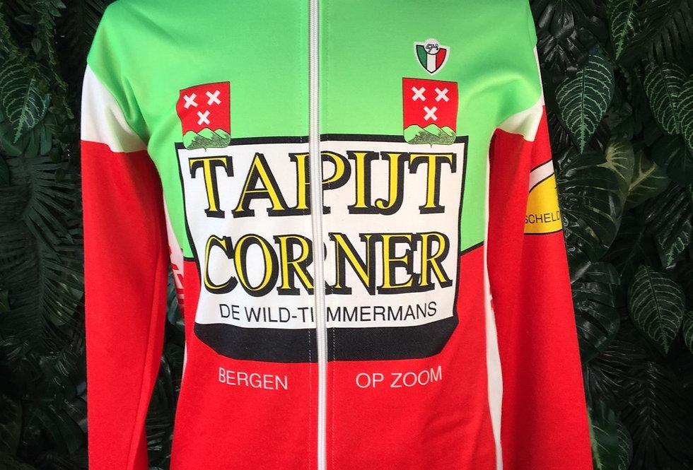 Italian long sleeve cycle jersey (L)