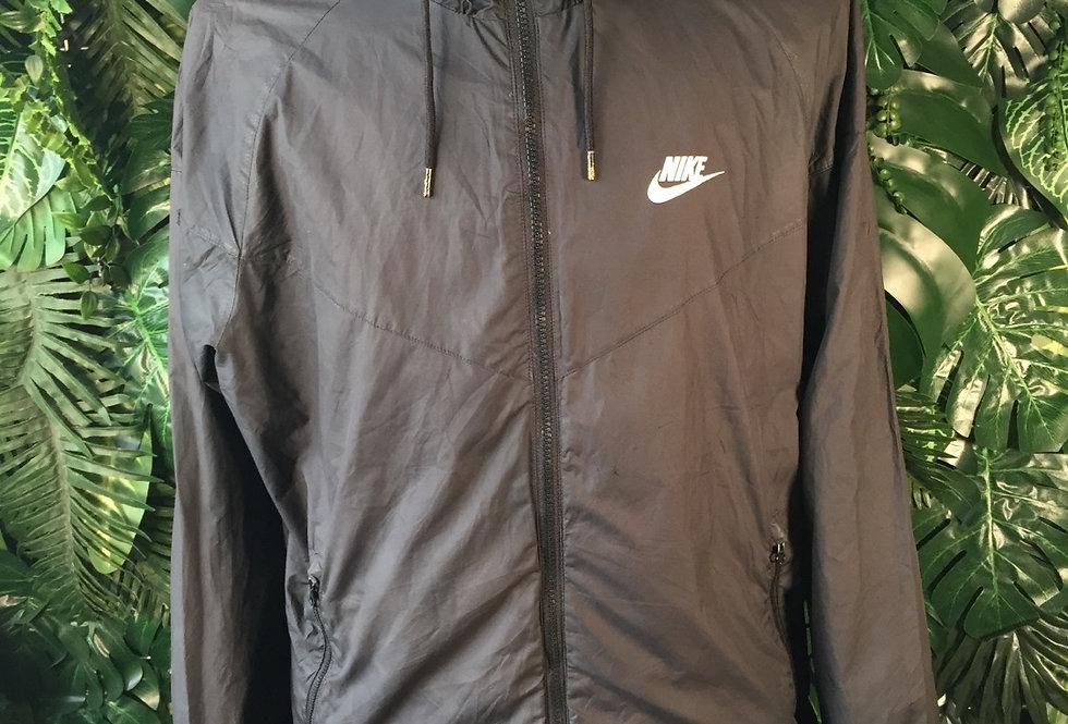 Nike hooded windbreaker (L)