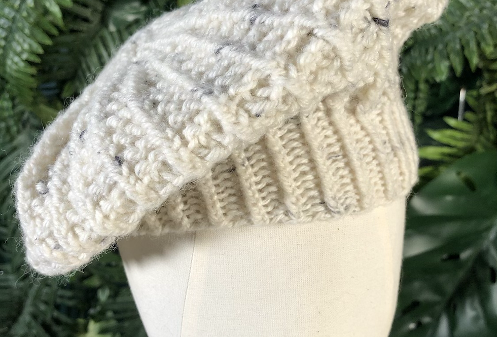 Mixed wool hat