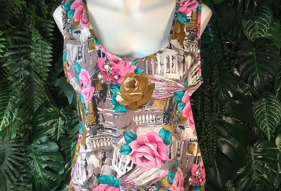 Floral vest (L)