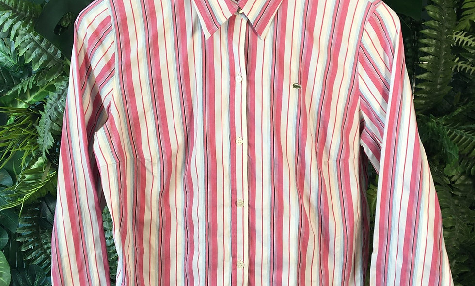 Lacoste Ladies Striped Shirt