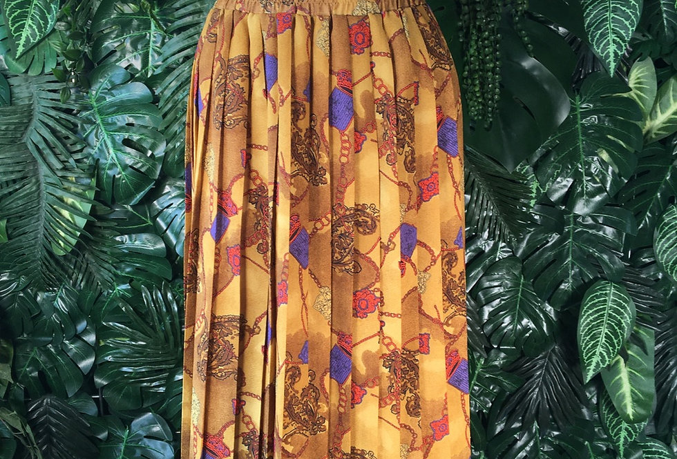 Printed skirt (size 42)