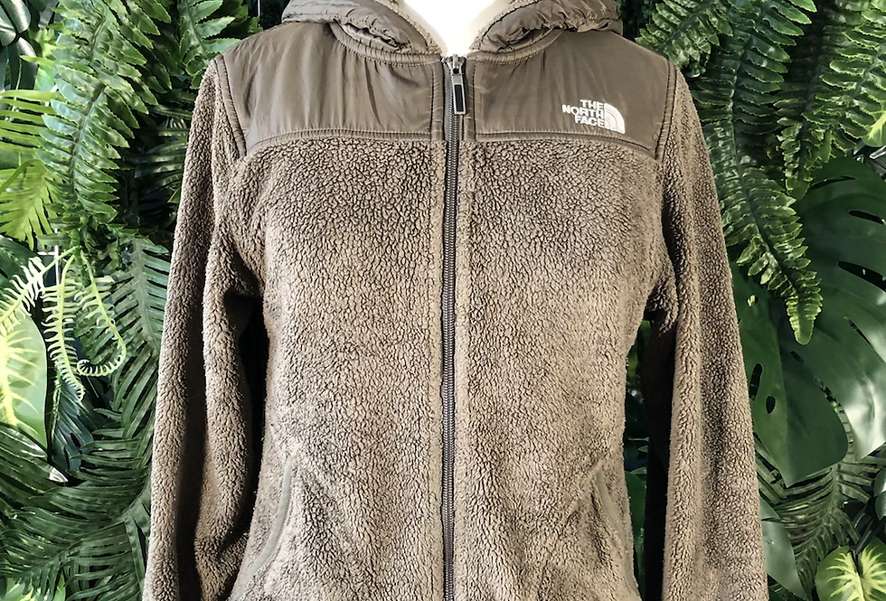 NORTHFACE hooded fleece