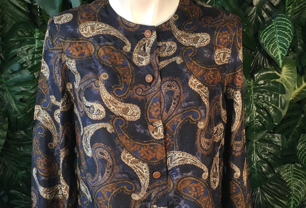Paisley blouse (size 46)