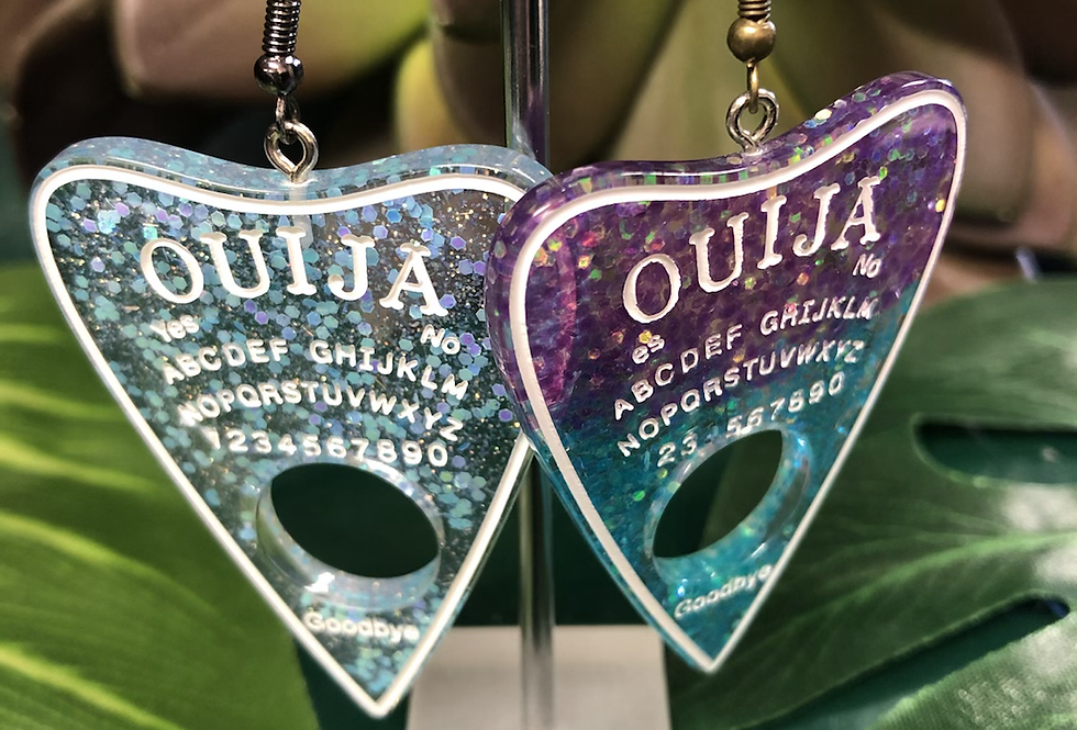 Ouija earrings (9 options )
