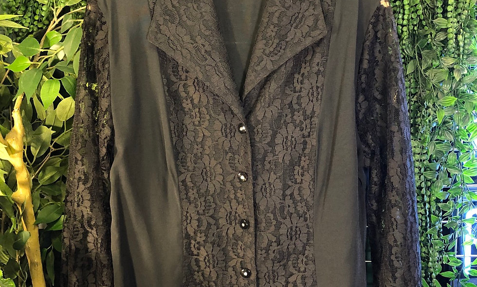 90s lace blouse