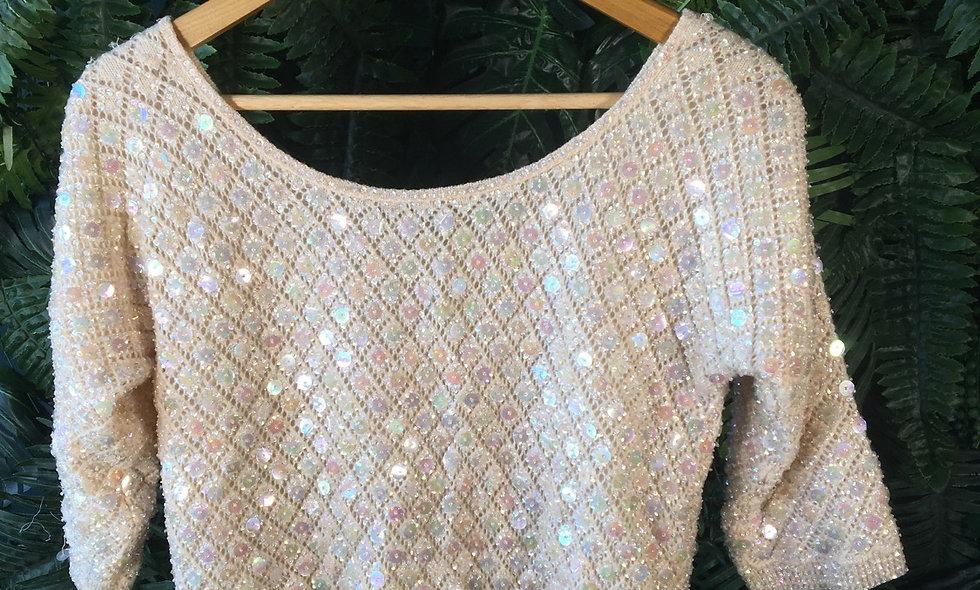 Sequin Half Sleeve Knit (8)