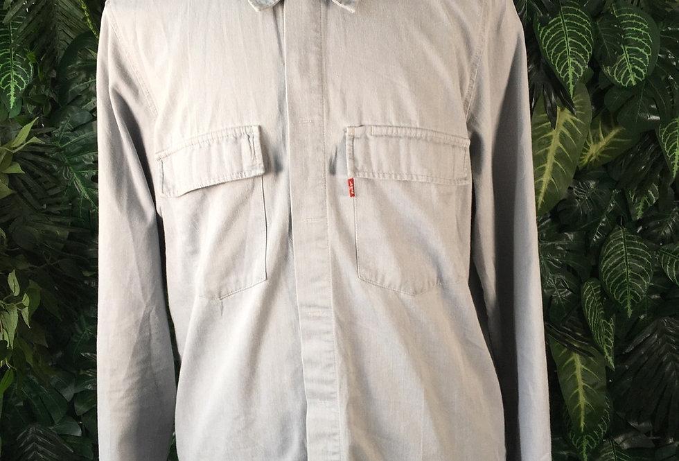 Levi's grey utility shirt (L)