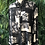Thumbnail: Black and white 90s blouse