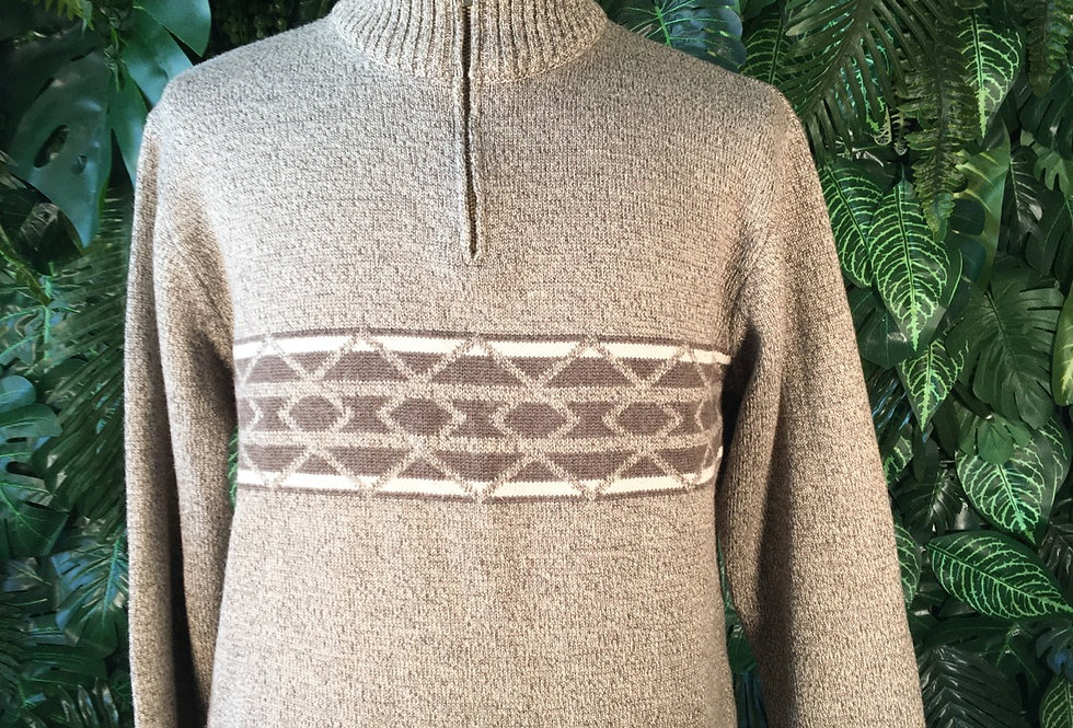 Biaginni 90s zip knit (L)