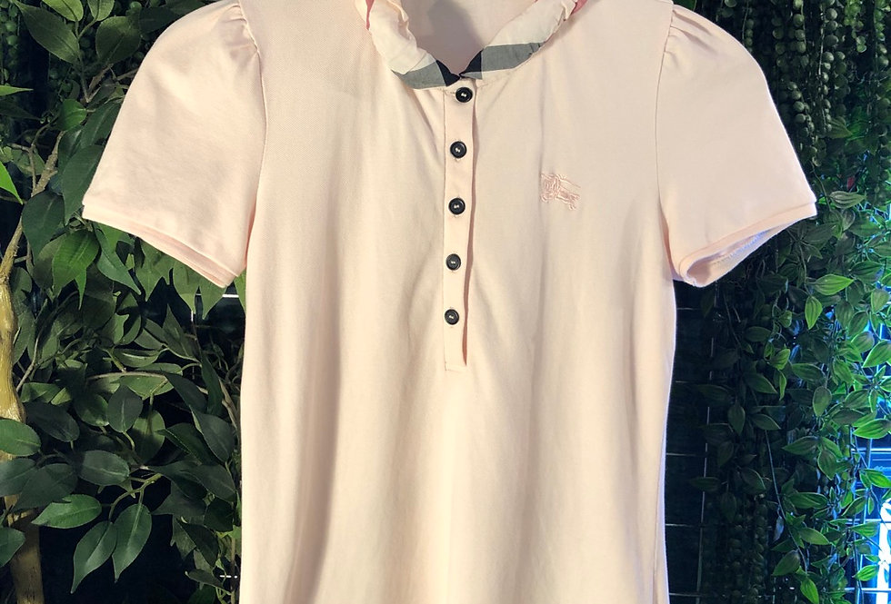 Ladies puff collar Burberry polo