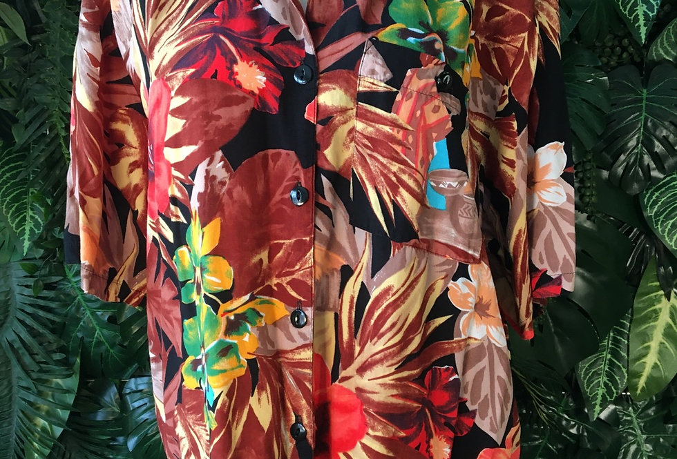 Sievers floral blouse
