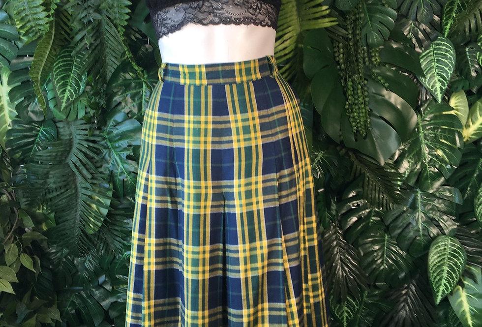 HMG tartan skirt (size 20)