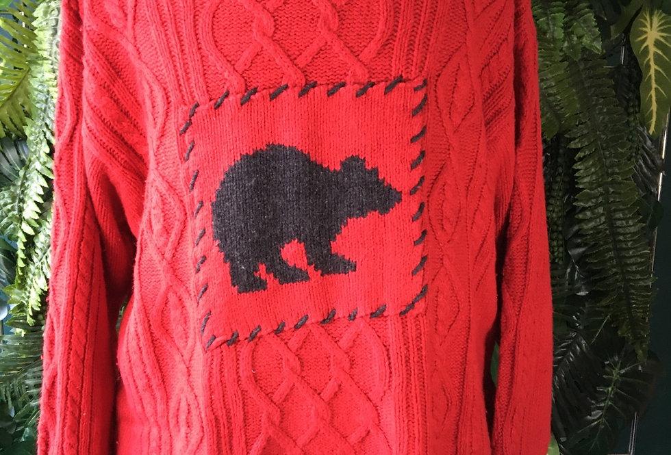 Polar Bear Aran Knit (2X)