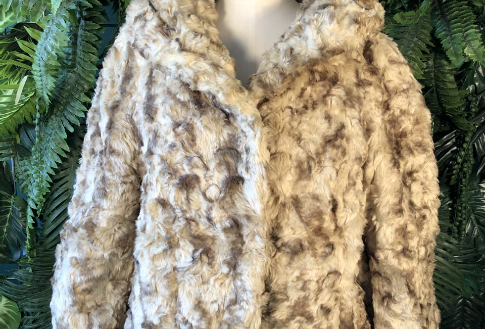 Dollhouse faux fur