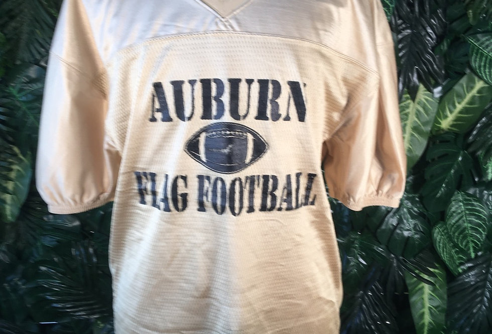Auburn gold football jersey
