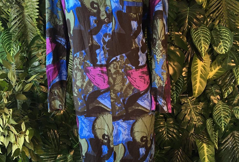 Moda Giovanni floral dress (size 16-18)