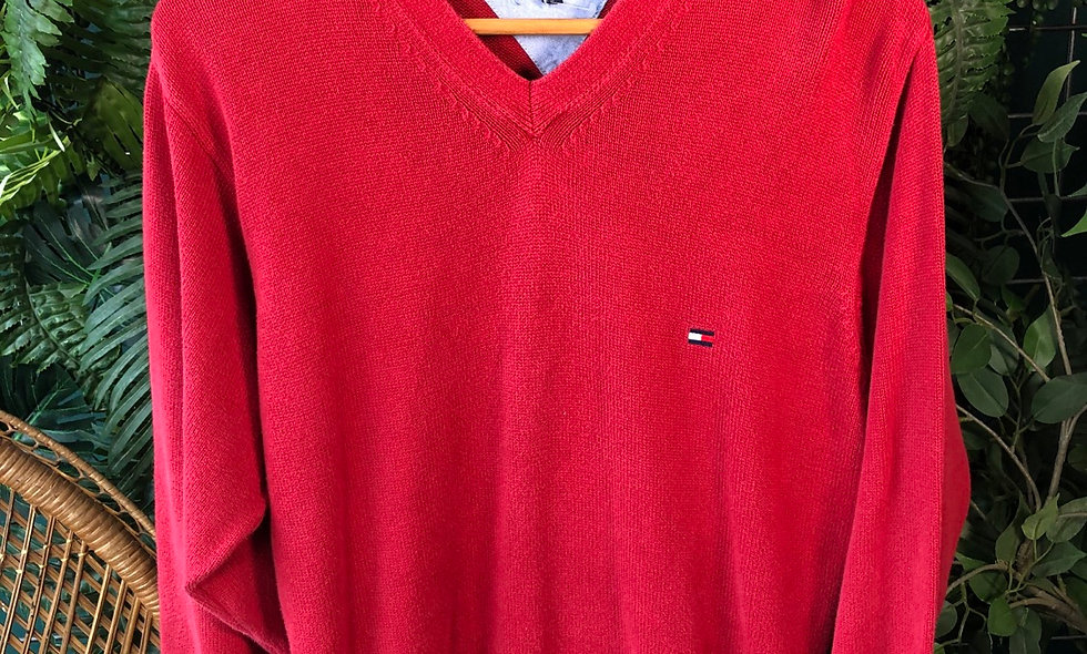 Tommy Hilfiger v neck knit