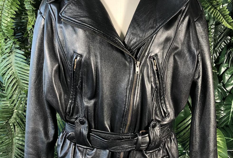 Black 90s zip jacket
