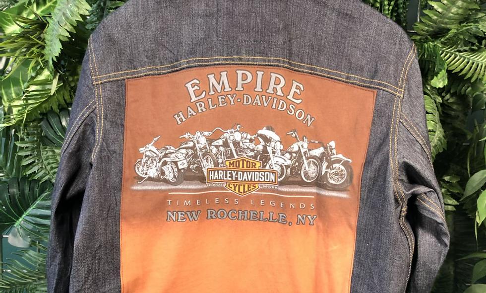 Empire Harley Davidson denim jacket
