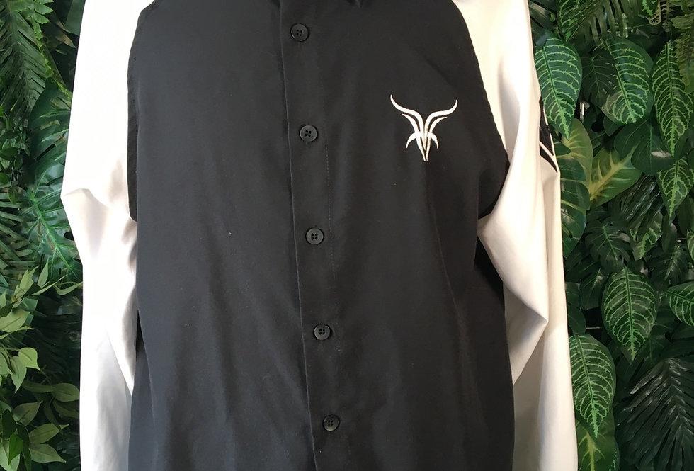 Clockhouse 2000s monochrome shirt (L)