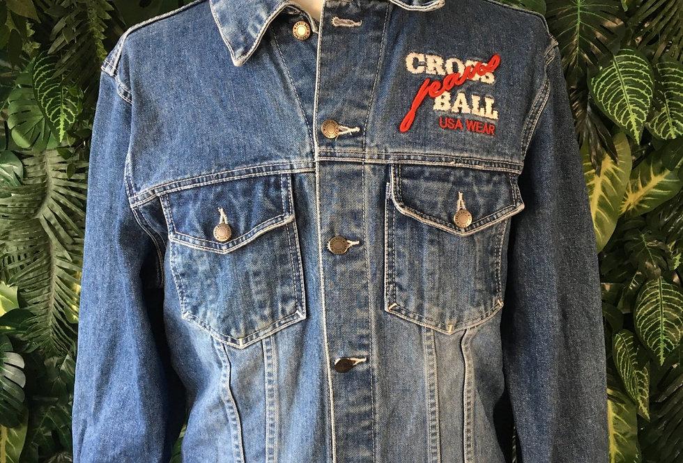 Cross Ball denim jacket (M)