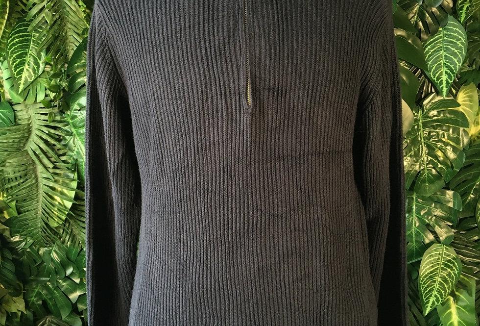 Tommy Hilfiger zip neck sweater (L)