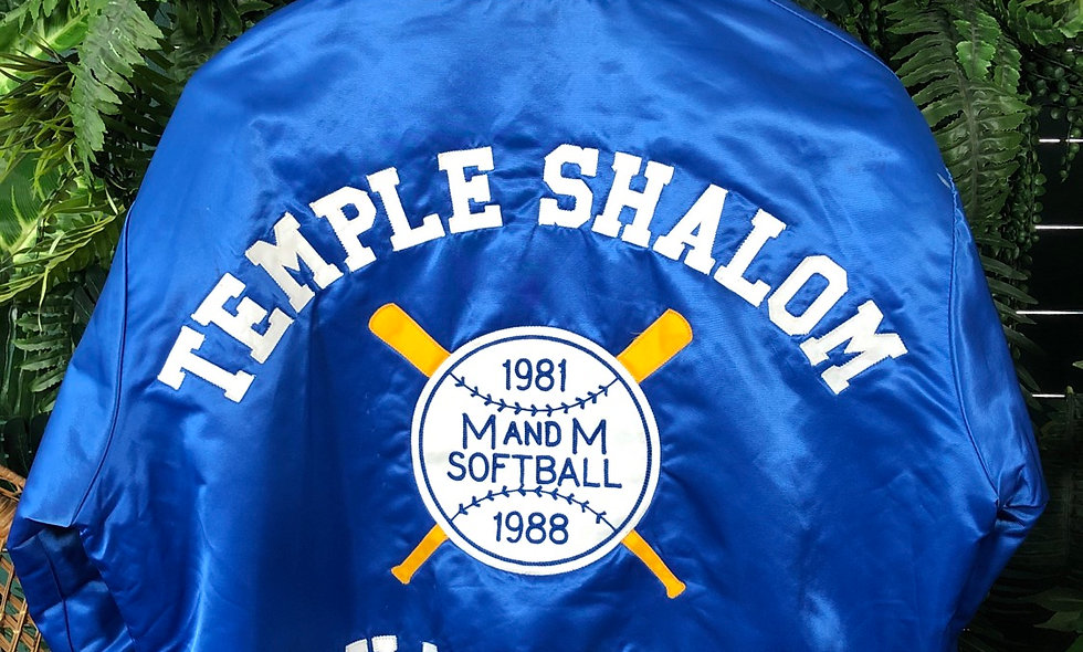 M&M 1988 softball jacket