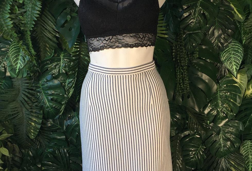 Pinstripe skirt (size 10)