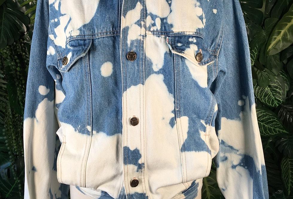 Top Twenty reworked denim jacket