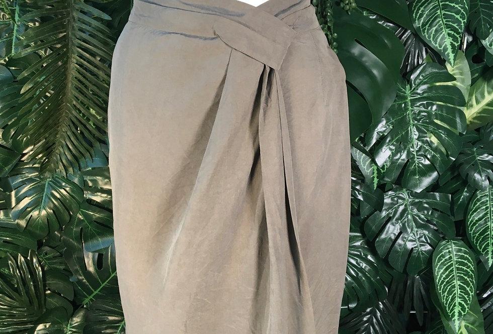 Max Mara silk wrap skirt (size 12)