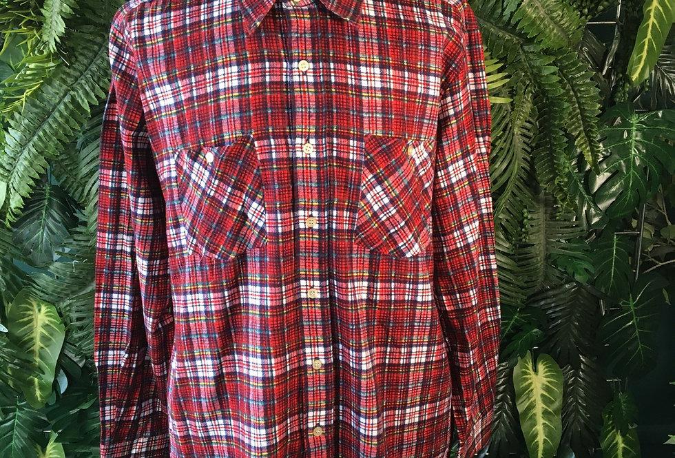 Windbreaker 70s Flannel Shirt (XL)