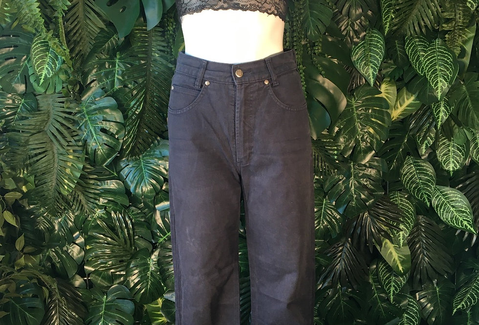 Freeway boot cute navy jeans (size 38)