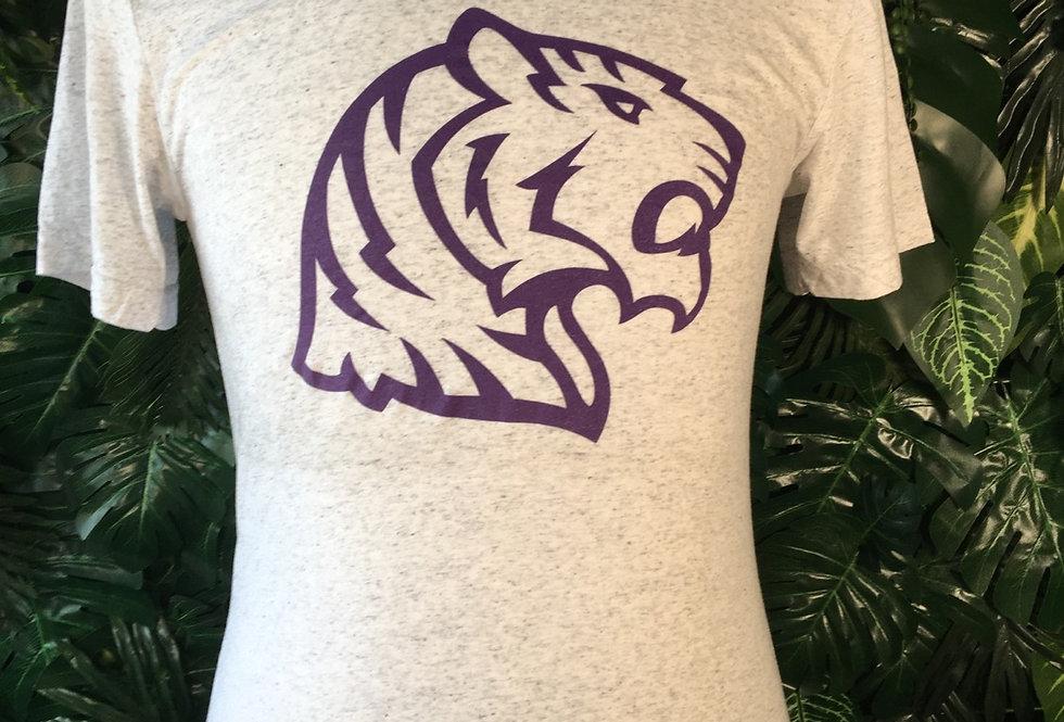 Purple tiger tee
