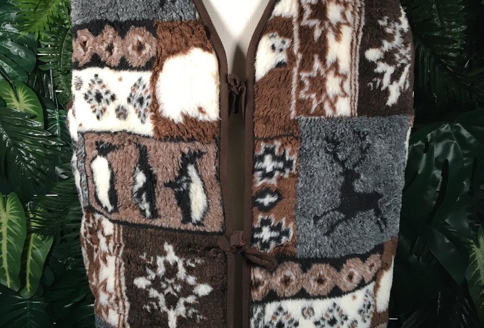 Winter Time Fleece Waistcoat (XXL)