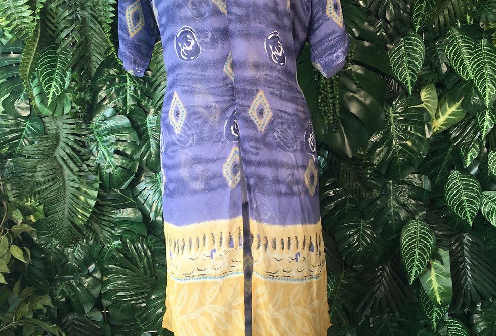 Layered sheer beach dress (size 18)