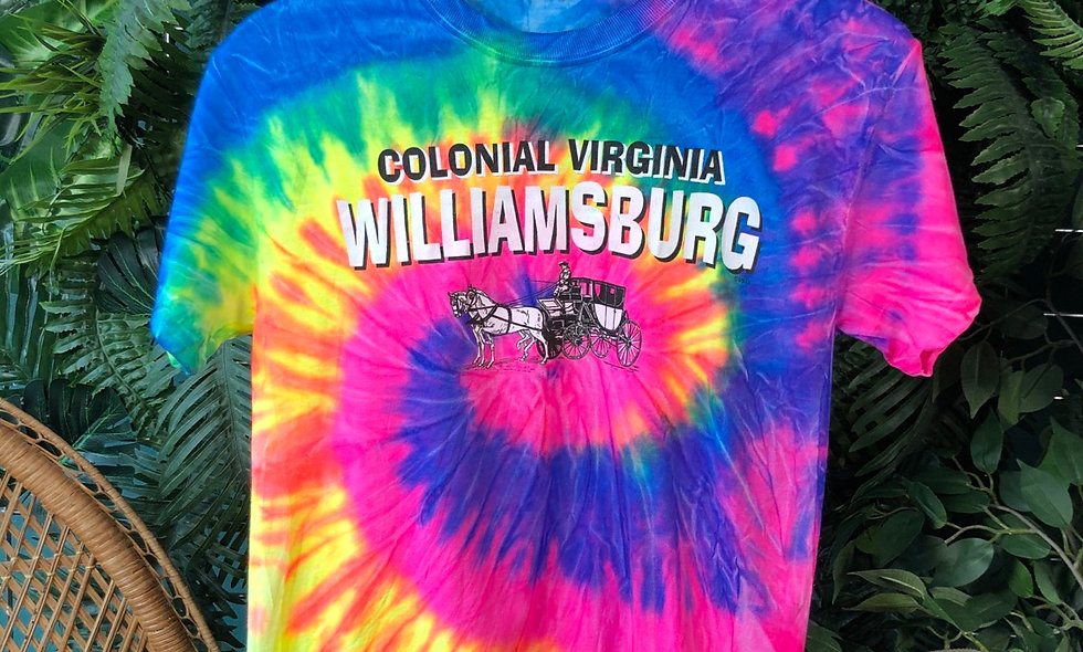 Williamsburg tie dye