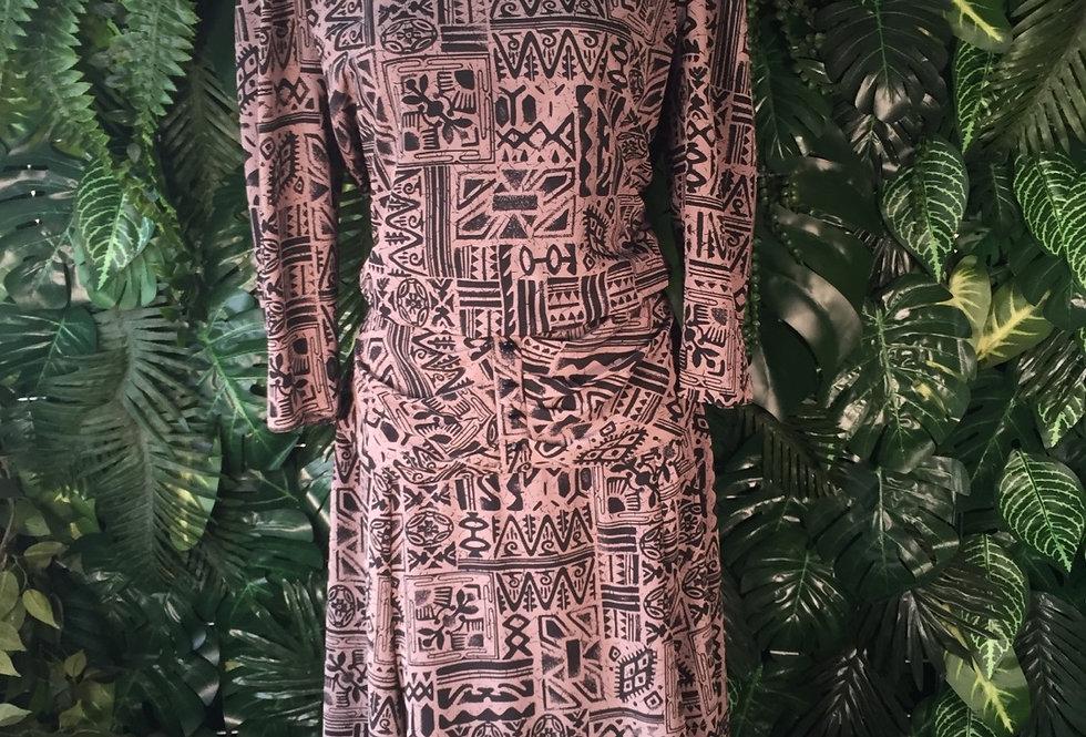 Shelana London 90s print dress (size 14)