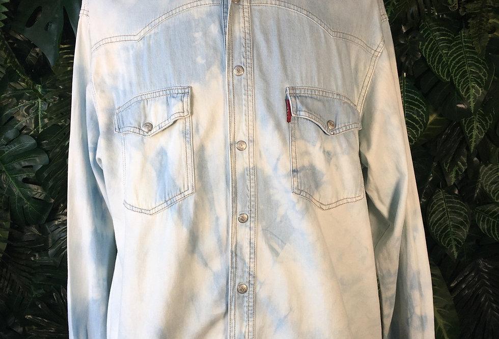 Redwood custom bleached shirt (M)