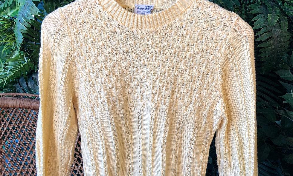 70s spun knit