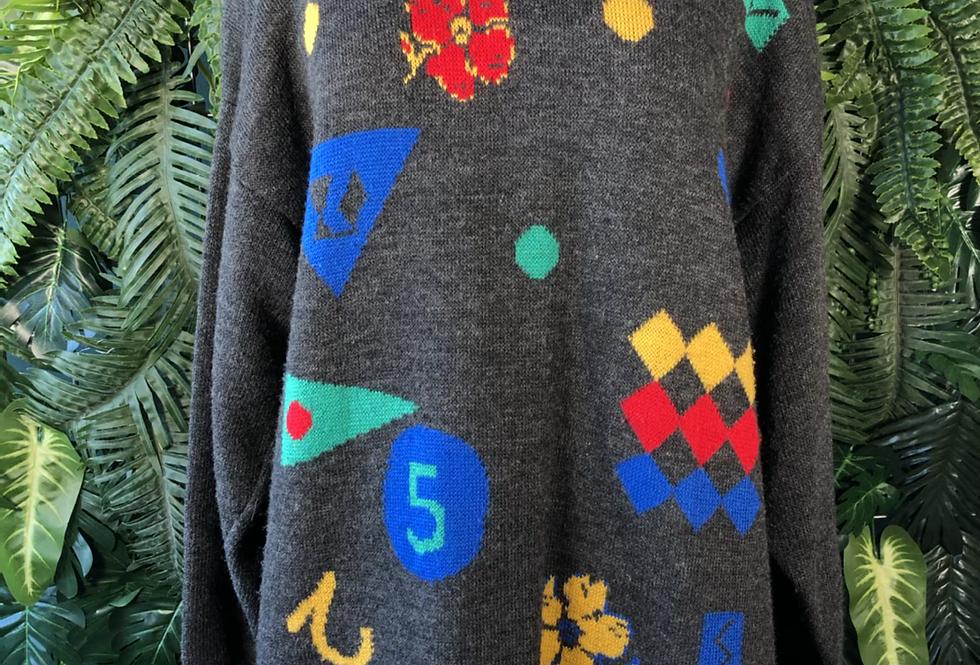 90s long knit