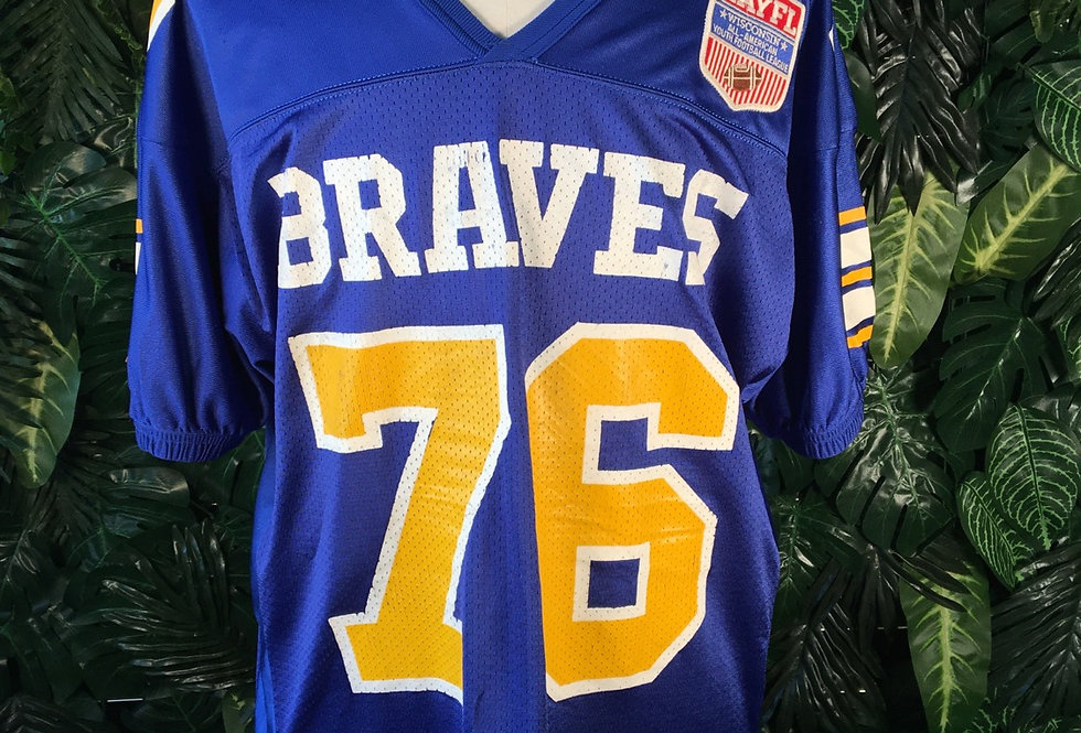 Braves football jersey
