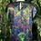 Thumbnail: Rainbow rose blouse