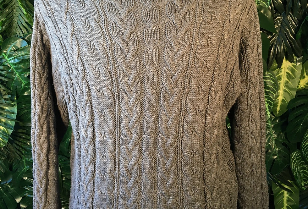 William Scott cotton cable knit