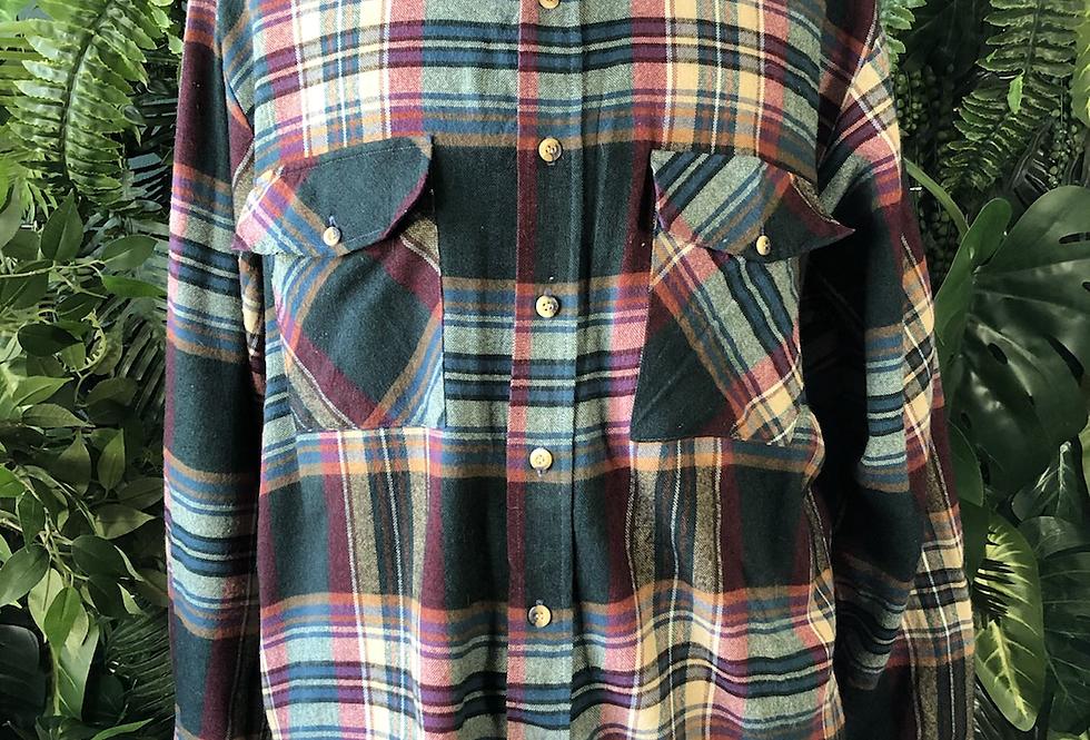 Sutter & grant tartan shirt